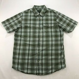 Eddie Bauer Men Shirt Size L Tall